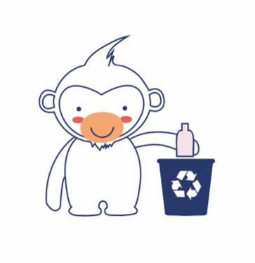 Marcel recycling responsibly